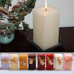 "3""x5"" Highly Scented-Square Pillars"