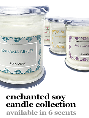 Enchanted Scented Soy Collection