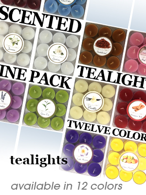 Scented Tealight Candles - 12 scents
