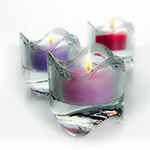"3""x5"" Flame Cut Tealight Candle Holders"