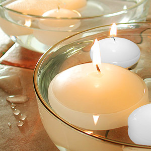 Round Floating Candle   Floating Candle   GeneralWax.com