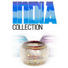 India Collection: Glass Tealight Candle Container