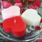 Scented Small Heart Candle