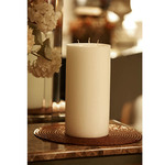 6 in x 12 in Large Pillar Candle