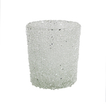 Frosted Sparkle Votive Holder